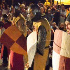 I feroci combattimenti dei Cavalieri di Ildebrandino